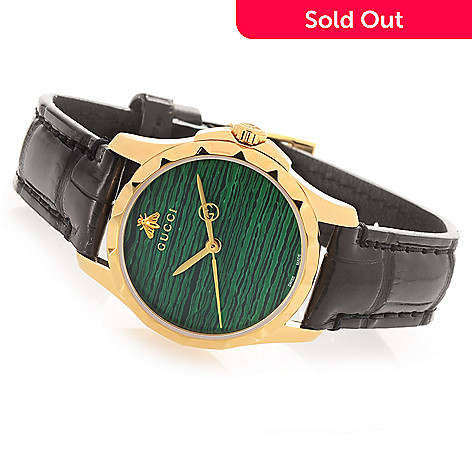 6a06a1316b5 655-514- Gucci Women s G-Timeless Swiss Made Quartz Leather Strap Watch