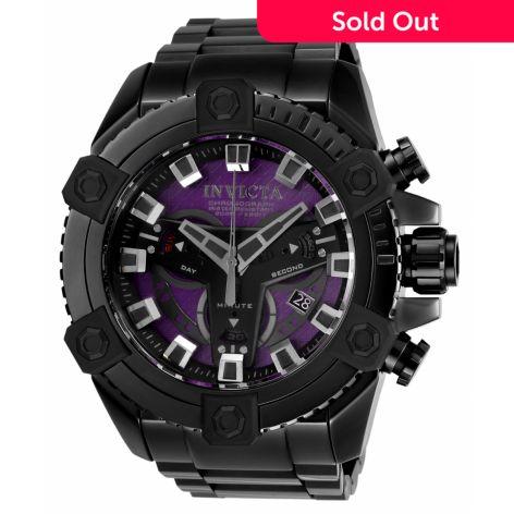 Invicta Men's 63mm Grand Octane Coalition Forces Swiss Quartz Chronograph  Bracelet Watch
