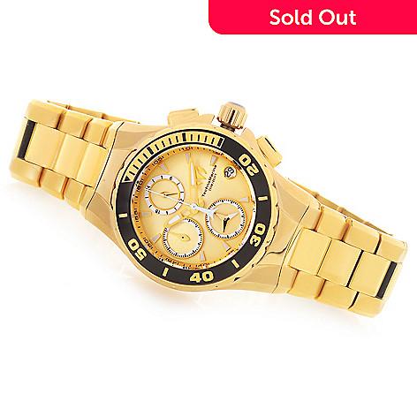 fe2facdfa80 656-312- TechnoMarine Women's Sea Manta Quartz Chronograph Stainless Steel  Bracelet Watch
