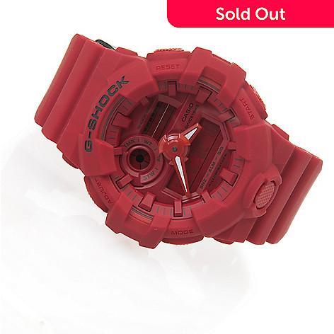 aea132e0909c 656-934- Casio Men s 53mm G-Shock 35th Anniversary Red Out Quartz Digital