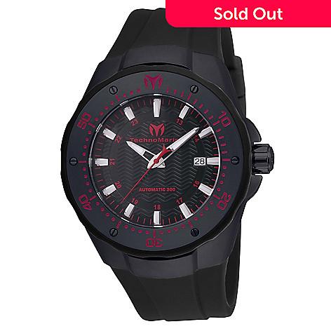 657 461 Technomarine Men S 48mm Manta Sea Automatic Silicone Strap Watch