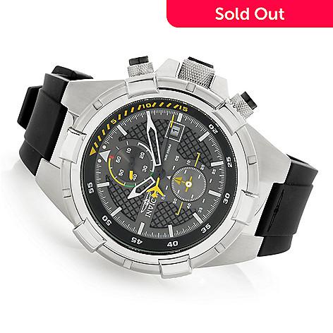 2bd0e3449 657-917- Invicta Men's 50mm Aviator Bolt Flight Series Quartz Chronograph  Silicone Strap Watch