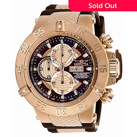 66094ae71 658-289- Invicta Men's 56mm Grand Subaqua Noma III Swiss Automatic Chronograph  Watch