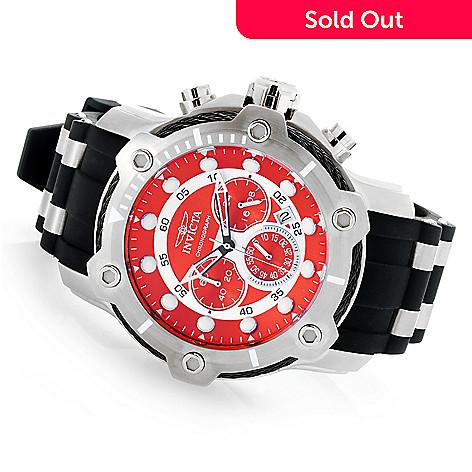 7e91983ce 658-760- Invicta Men's 50mm Bolt Quartz Chronograph Silicone Strap Watch