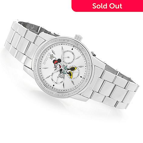 af68205ee 659-895- Invicta Disney® Women's Angel Limited Edition Quartz 0.35ctw  Diamond Watch