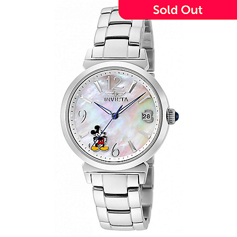 539bdf2f1 659-944- Invicta Disney® Women s Mickey Mouse Limited Edition Quartz  Mother-of