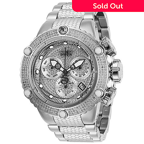 eab522305 Invicta Men's 50mm Subaqua Noma VI Swiss Quartz Chronograph 1.69ct Diamond  Bracelet Watch