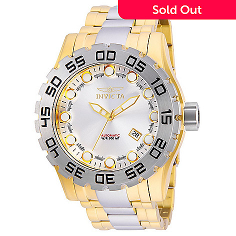 ff29e8110 660-529- Invicta Men's 52mm Pro Diver Automatic Date Two-tone Stainless  Steel