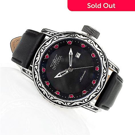 8862b84e9 660-788- Invicta Men's 50mm Excalibur Automatic Leather Strap Watch w/ 8-