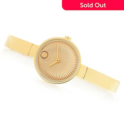 600e1cc73 661-613- Movado Women's Edge Swiss Made Quartz Sapphire Crystal Stainless  Steel Bracelet Watch
