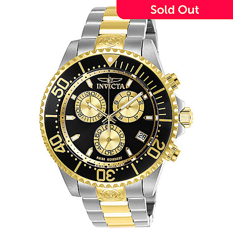 886e008f1 663-053- Invicta Men's 47mm Pro Diver Swiss Quartz Chronograph Two-tone  Stainless
