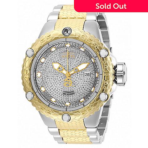 Invicta Men's 50mm, Subaqua Noma VI, Swiss Automatic 1 81ctw Diamond  Stainless Steel Bracelet Watch