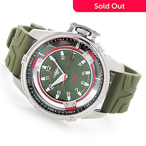 Sturmanskie Men's 48mm Mars Cosmonaut Trainer Limited Edition Automatic  Polyurethane Strap Watch