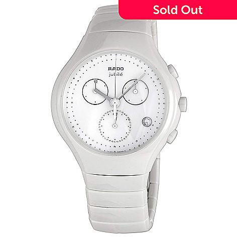 157ebdb5d 668-928- Rado Women's True Jubile Swiss Made Quartz Diamond Accented  Ceramic Bracelet Watch