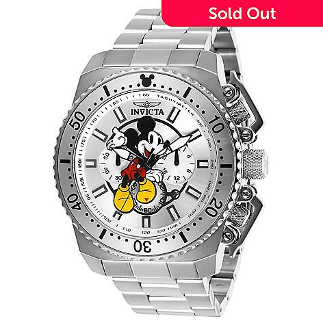 f0d2c26b71d 672-385- Invicta Disney® Men's 48mm Mickey Mouse Limited Edition Quartz  Chronograph Bracelet