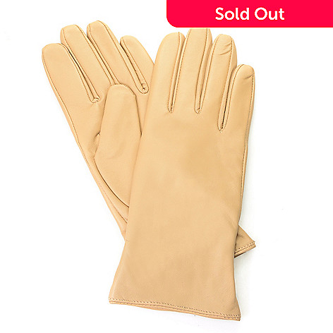 a0775a29f 701-316- Excelled Women's Cashmere-Lined Lamb Leather Gloves