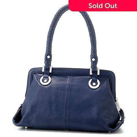 703 116 La Gioe Di Toscana Leather Doctor Handbag