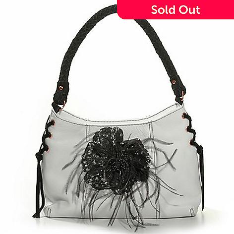 703 132 La Gioe Di Toscana Flower Pin Hobo Handbag