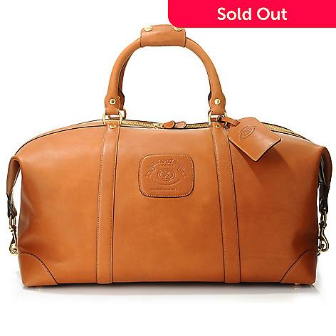 703 368 Ghurka Uni Cavalier Ii Leather Travel Bag