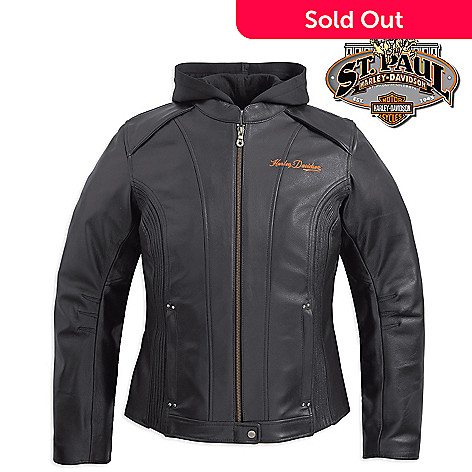 2f06c95a6cf5 Harley-Davidson® Women s S-XL Moxie 3-in-1 Leather Jacket - EVINE