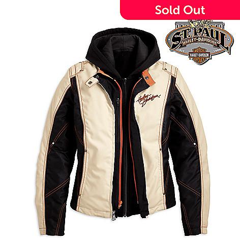 cbed17904af7 Harley-Davidson® Women s 1W-3W Spirited 3-in-1 Jacket - EVINE