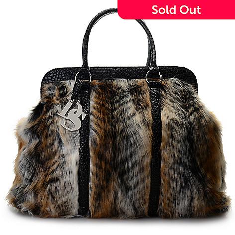 f69d71198624 711-441- Donna Salyers  Fabulous-Furs Faux Fur Weekender Bag