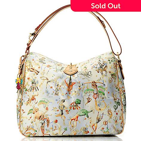 82584c1162ff 712-070- Piero Guidi Magic Circus Cherie Collection Hobo Handbag