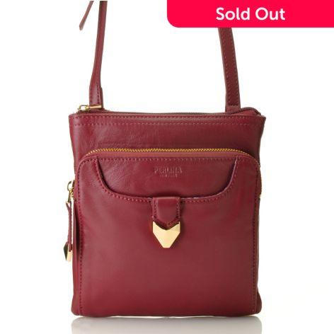 Napa Leather Convertible Cross Body Bag
