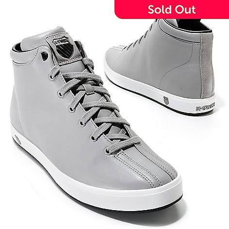 buy online cbdc7 fcaa2 714-047- K-Swiss Men s Leather Clean Classic High Top Sneakers