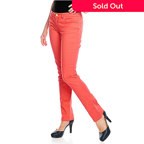 381052dd8b3 714-651- Brooks Brothers Stretch Denim Full Length Tapered Leg Five-Pocket  Pants