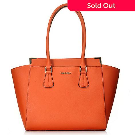 d5154703921 714-732- Calvin Klein Handbags Saffiano Leather East/West Tote