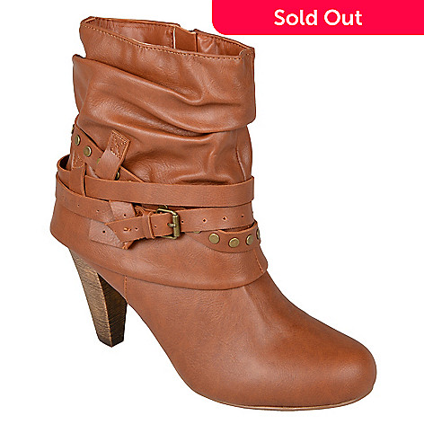 a9a4b15f2cf 715-785- Madden Girl by Steve Madden Womans High Heel Short Boots