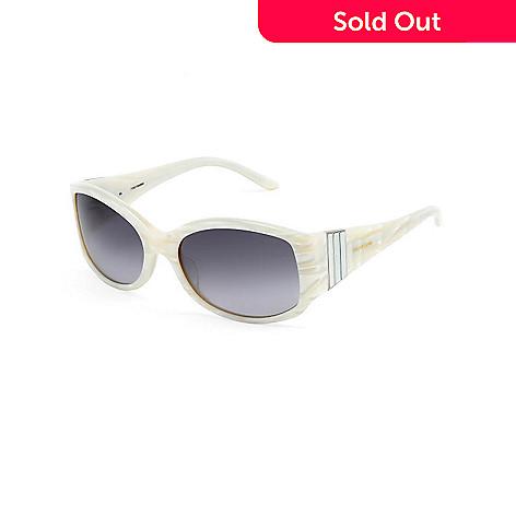 Celine Dion Women\'s White Framed 5504WH57 Sunglasses - EVINE