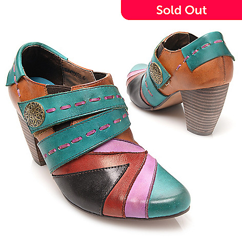 buy popular 8eeac 72649 719-335- Corkys Elite Hand-Painted Leather Multi Color Shoes