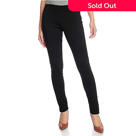 3e6e6bb21c366 Gramercy 22™ Ponte Knit Full-Length Slim Leg Pull-on Pants - EVINE