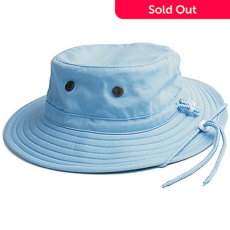 148c7cf7e997f1 720-640- Sloggers Classic Cotton Brimmed & Ventilated Hat w/ Drawstring  Detail