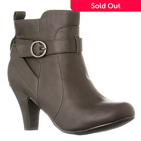 e3e80e22466 721-088- Madden Girl by Steve Madden Women s Side Zip Ankle Boots