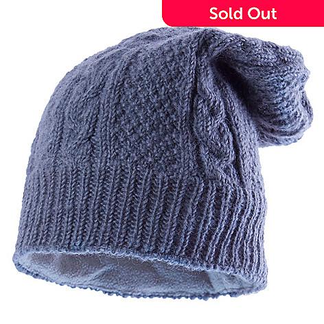 721-174- SIJJL Cable   Marich Knit Wool Floppy Beanie Hat 11f9bd98845