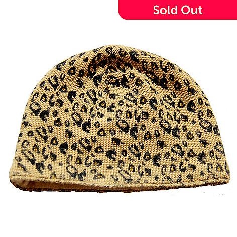 3a5d58e43c08e 721-192- SIJJL s Women s Wool Leopard Print Beanie Hat