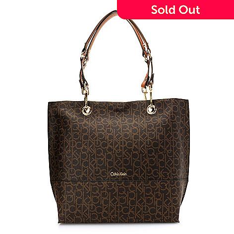 cabad5ab9c8 721-622- Calvin Klein Handbags Logo Reversible Tote Bag