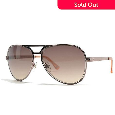 9bec9004426e 722-215- Michael Kors Women's Rose-tone Aviator Sunglasses