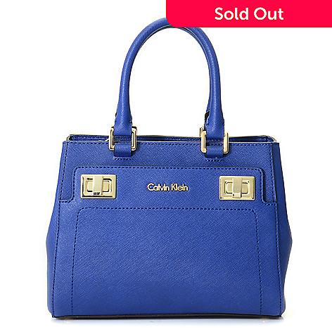 dce784333cb 722-666- Calvin Klein Handbags Saffiano Leather Crossbody