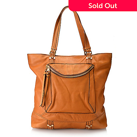 723 468 Kooba Handbags Sebastian Leather Pouch Pocket North South Tote