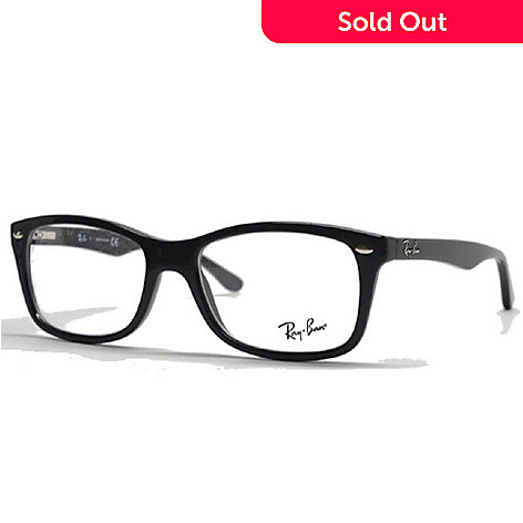 17ff1f912d 723-746- Ray-Ban Classic Black Rectangular Frame Designer Reading Eyeglasses
