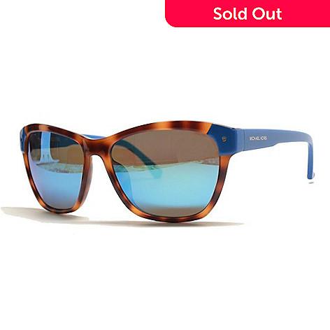 6e52734782 723-750- Michael Kors Faux Tortoiseshell   Blue Sunglasses