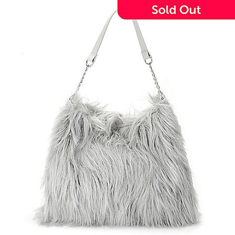 7329a9f960d7 723-930- Donna Salyers  Fabulous-Furs Faux Fur   Faux Leather Weekender