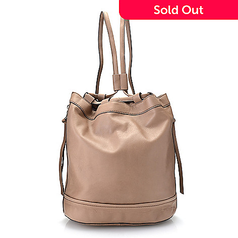 725 131 Kooba Handbags Canyon Lamb Leather Drawstring Sling Backpack
