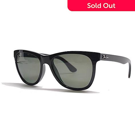 Ray-Ban Men\'s Polarized Lens Black Thick Frame Sunglasses w/ Case ...