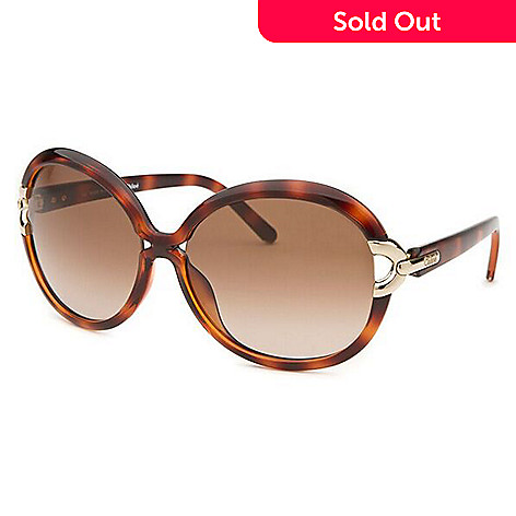 442937f898 725-405- Chloé Oversized Round Frame Gold-tone Detailed Sunglasses w  Case