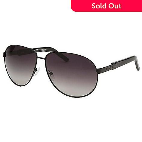725-420- Guess Men s Traditional Aviator Sunglasses w  Case 896e1f51cd